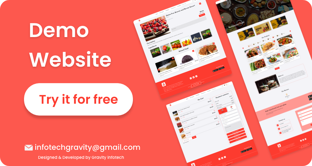 Single restaurant food ordering Website and Delivery Boy App with Admin Panel - 6
