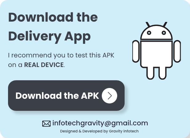 Single restaurant food ordering Website and Delivery Boy App with Admin Panel - 8