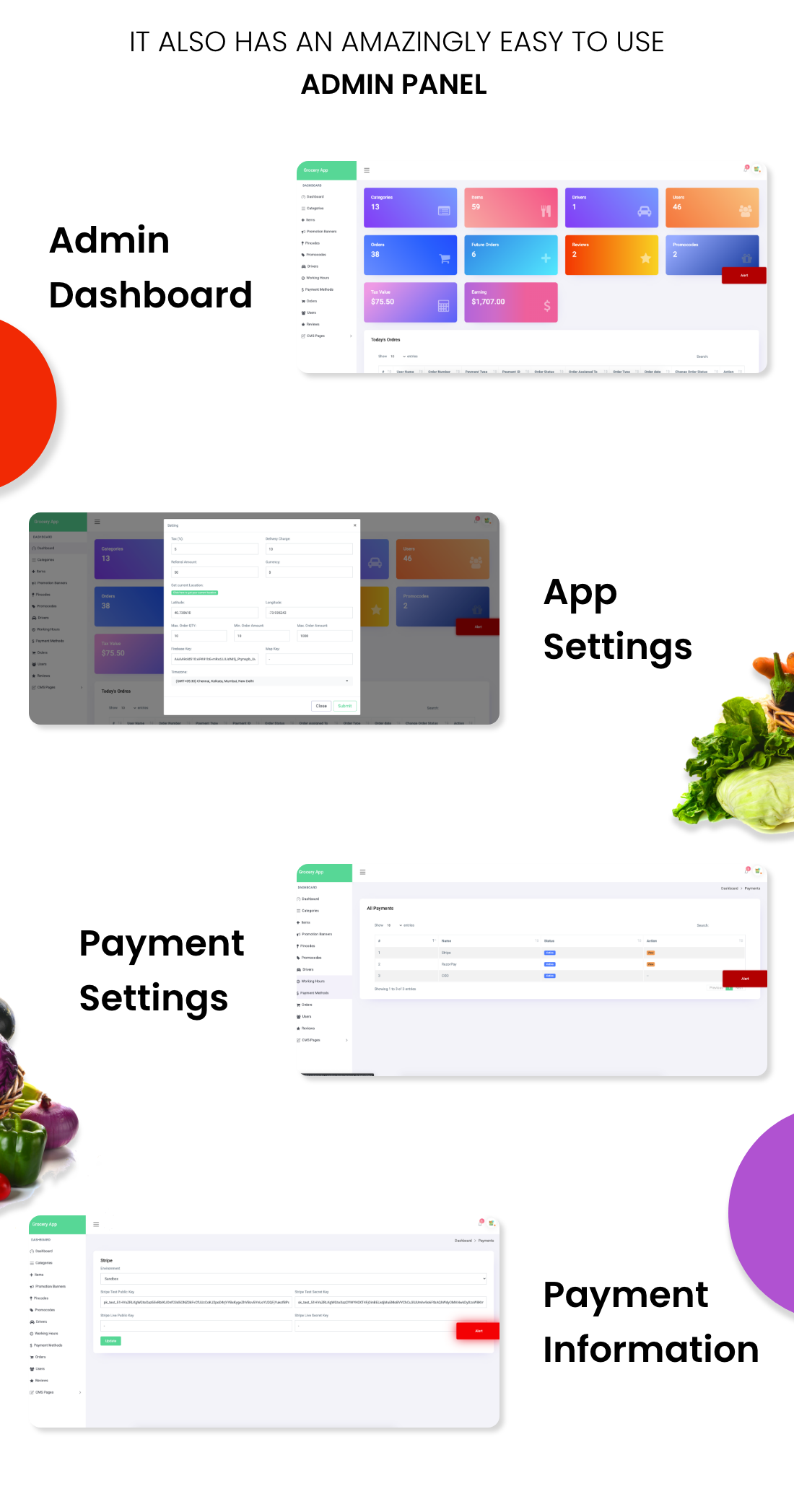 Single Grocery, Food, Pharmacy Store Android User & Delivery Boy Apps With Backend Admin Panel - 11